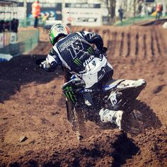 Monster energy Yamaha Dirt Bike Racing, Off Road Racing, Fox Racing, Dirt Biking, Fox Motocross, Quad, Dirtbikes, Monster Energy, Motorbikes