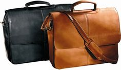The top selling Andrew Philips Napa Laptop Flapover Briefcase features lots of…