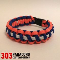 Denver Broncos (inspired by) Sports Teams | 303 Paracord