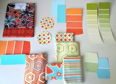 The Seeds of Inspiration: color and cards!