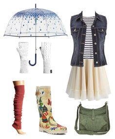 Spring Splosh by dashletta on Polyvore featuring polyvore, fashion, style, T By Alexander Wang, maurices, Chicwish, ToeSox, Chooka, Frye, Icebreaker, Vera Bradley and clothing