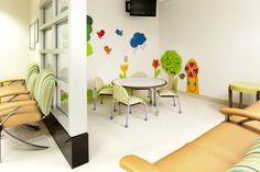 UC Davis Pediatric Emergency Waiting Room (yep, separate from the grownups' emergency waiting room!)