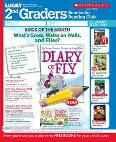 It's the October 2013 Scholastic Reading Club Flyer for 2nd Graders!