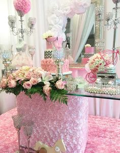 Diamonds and Baby Girl dress Baby Shower Party Ideas | Photo 1 of 16