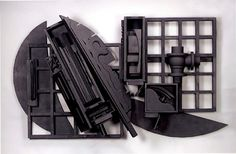 'Mirror-Shadow XV1' by Louise Nevelson