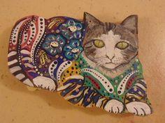 Coastal Animal Wood Crafts, ornaments in happy, colorful designs.