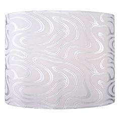 Silver Drum Lamp Shade with Spider Assembly   SH9497   Destination Lighting