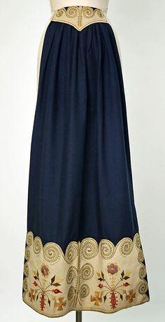 Apron, 1900–1940, Swedish, wool - Love IT!!!!!!!