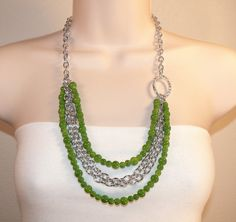 Green Multi Strand by simplybetty