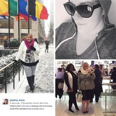 Our Brand Ambassador, Jessica Kane (from http://www.lifeandstyleofjessica.com/) took NYC by storm in Avenue.