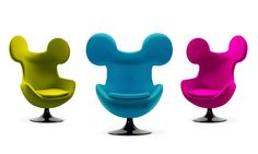 Mickey Egg Chair by Mickey Mivu
