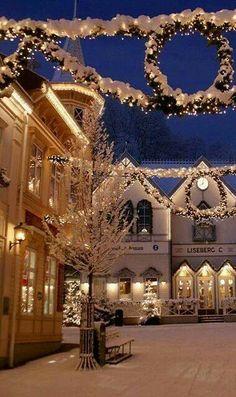Christmas in Stockholm, Sweden.