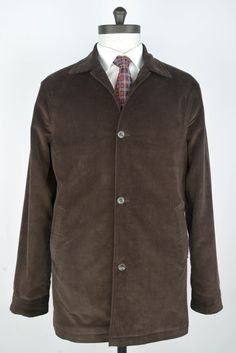 Luxire car coat made in Brisbane Moss T1 Corduroy: Brown 100 http://custom.luxire.com/products/brisbane-moss-chiltern-dark-brown-corduroy