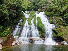 Cachoeira do Paredão, em Guapé, MG.