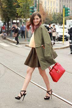 #fashion-ivabellini Eleonora Carisi