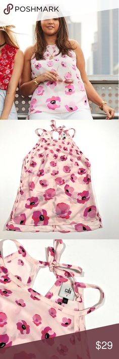 Floral Tank Top, Plus Fashion, Fashion Tips, Fashion Trends, Blouse Designs, Purple, Pink, Blouses, Blazer