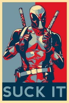 POSTER marvel comics deadpool obey obama style wall art print by Marvel Comics, Ms Marvel, Bd Comics, Marvel Heroes, Poster Marvel, Deadpool Comics, Deadpool Quotes, Deadpool Stuff, Deadpool Movie