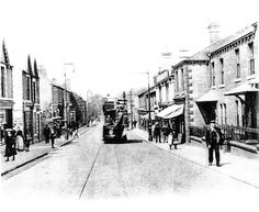 London rd with tram.Carlisle