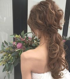 WEDDINGHAIR Hochzeit Haar ❤ Low Pony Arrangement Hochzeit Set # ladonnasakae # 纐 纐 # ア ン ジ ジ arrangieren # jermer # jermeraccessory Wedding Ponytail, Bridal Hairdo, Bridal Hair And Makeup, Hair Makeup, Ponytail Hairstyles, Bride Hairstyles, Cool Hairstyles, Korean Wedding Hair, Hair Arrange