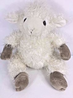 Vintage 1991 Mary Meyer Lamb Sheep Skedaddles Plush Toy Shaggy Curly Cream White  | eBay