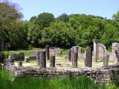 Butrint in Albania, an archaeological city