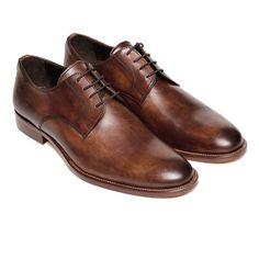 Classic Derby Shoe // Dark Brown (Euro: 40)