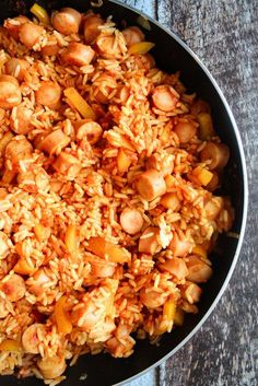 Easy and delicious rice dish! Food N, Good Food, Food And Drink, Easy Cooking, Cooking Recipes, Healthy Recipes, Sandwiches, Recipes From Heaven, Everyday Food