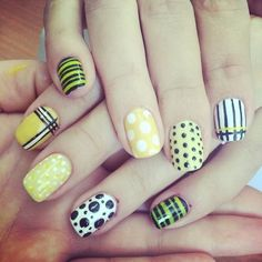 Nail art that attracts attention