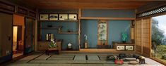 """1"""" scale models / E-31: Japanese Traditional Interior   The Art Institute of Chicago"""