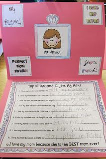 Seusstastic Classroom Inspirations: Fabulous Mother's Day Card Idea!