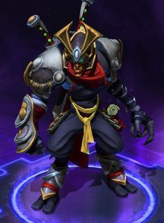 Heroes of the Storm - Zeratul, Ronin skin