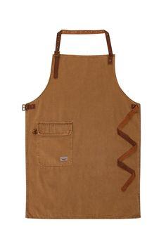 USKEES CHORLTON Denim Bib Apron - Brown waiter barista DIY work apron CHORLTONFSPB-One Size: Amazon.co.uk: Clothing