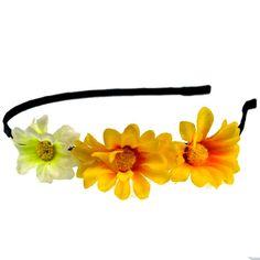 fashion flower headband for girls #a017