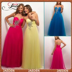 HE017 Greatful Sweetheart Empire Waist Soft Tulle Beach Fushcia Evening Dress 2014 New $133.99