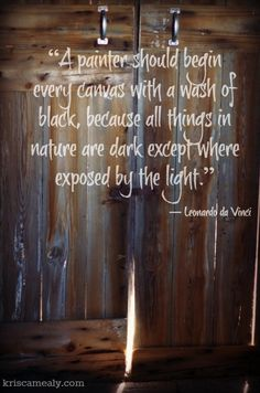 God did speak into the darkness at the beginning of Creation. 'Formless, empty, darkness' to 'Let there be light!'