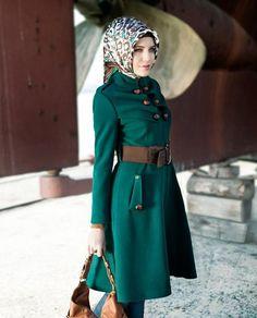 I just bought it :) Turkish Fashion, Islamic Fashion, Muslim Fashion, Hijab Fashion, Muslim Dress, Beautiful Hijab, Mode Hijab, Dress Sewing Patterns, The Dress
