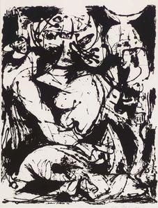 sans titre (peinture nombre 22) - (Jackson Pollock)
