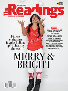 Cover story and interview with holiday tips from Charlene Bazarian for The Readings Magazine Weight Loss Success Stories, Success Story, Weight Loss Inspiration, Fitness Inspiration, Weight Loss Transformation, Interview, Articles, Magazine, Reading