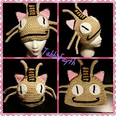 Pokemon Meowth inspired hat!