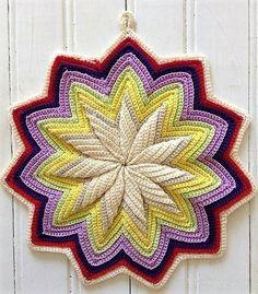 crochet flower 14