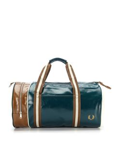 Classic Barrel Bag by Fred Perry at Gilt Fashion Bags 3347595c85f44