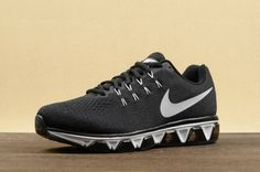 Nike Air Max Tailwind 8 Men's Running Shoes - Black/White-Anthracite