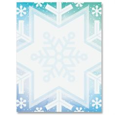 Chance of Snow Letter Paper Recipe Paper, Computer Paper, Frame Clipart, Snail Mail, Journal Cards, Holiday Parties, Free Printables, Stationary, Merry Christmas