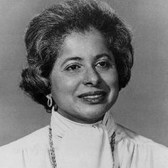 Patricia Roberts Harris (May 21, 1934 - March 23, 1985) graduated summa cum laude, Phi Beta Kappa from Howard University in 1945. She received her J.D. from the George Washington University National Law Center in 1960, ranking #1 in her class of 94. She was the first African American woman to serve in the U.S. Cabinet. She was the first African American woman ambassador. Harris was the first national executive of Delta Sigma Theta Sorority.