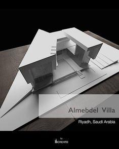 Almedbel VIlla Riyadh, Saudí Arabia #saudiarabia #villa #creato #3dmodel #unique #riyadh