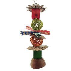 Chinchilla Hanging Toys - Blocks Ball and Coconut $8.00