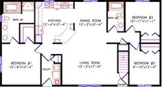 Alternate Floor Plan: 1636 Cambridge
