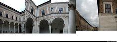 Palazzo Ducale di Urbino. Portico di Luciano Laurana e Francesco di Giorgio Martini - © fabiosigns