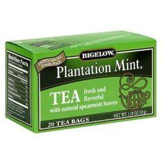 images of plantation mint tea | Bigelow Plantation Mint Tea, 20-Count Boxes (Pack of 6) | Shop food ...