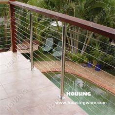 High quality deck wire railing  outdoor wire railing  wire fence for sale
